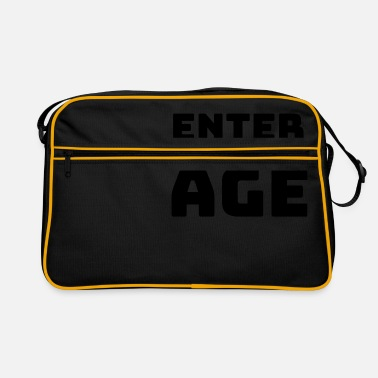 New Age Enter the new Age - Retrotasche