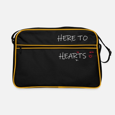 Steal Steal Hearts - Retro Bag