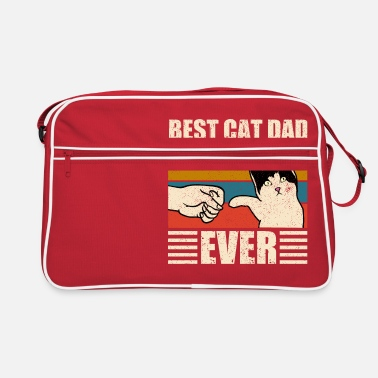 Idea Best Cat Dad Ever Best Cat Dad Dad Kitten - Retro Bag