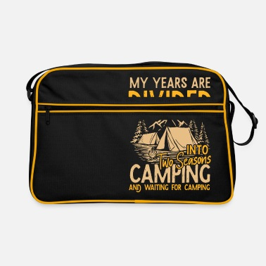 Cold Two seasons camping Happiness in the tent - Retro Bag