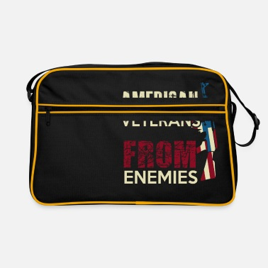Urban AMERICAN VETERANS - Retro Bag