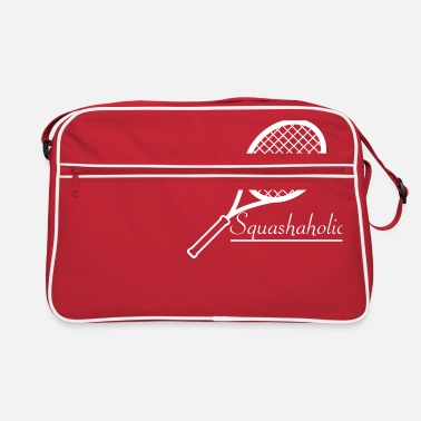 Up Squash Badminton Shuttlecock Racketlon - Retro Bag