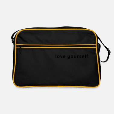 Korean Design Korean design, LOVE YOURSELF - Retro Bag