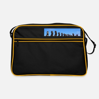 Easter Easter island - Retro Bag