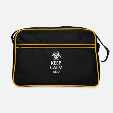 Toxina keep calm and toxic  - Bandolera retro