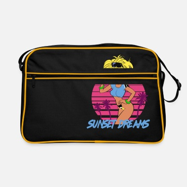 Sunset Dreams Pinup Yellow - Retrotasche