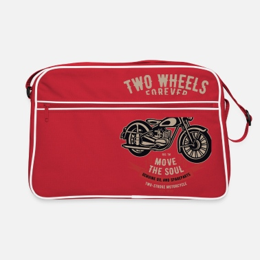 Two-wheeled Two Wheels Forever - Retro Bag