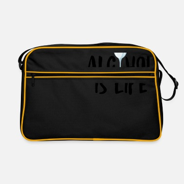 Alcoholic Alcohol alcohol - Retro Bag