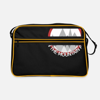 Mountain Love Mountains - love is in the mountains Love is mountains - Retro Bag