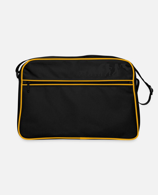 Competition Bags & Backpacks - Evolution Parcour - Retro Bag black/gold