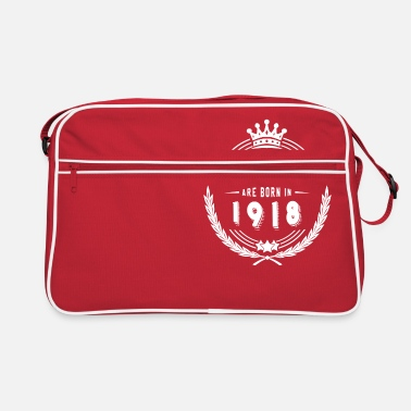 1918 Legends are born in 1918 - Retro Bag