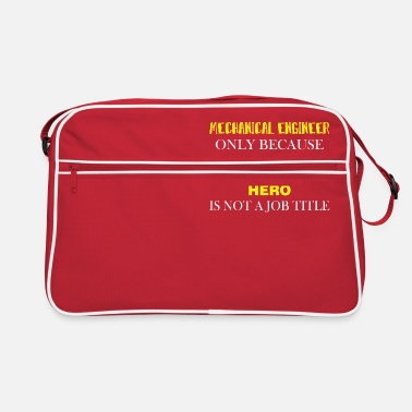 Engineering Mechanical Engineer - Mechanical Engineer only - Retro Bag