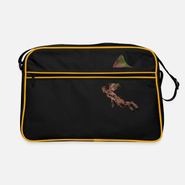 Bewinged Baptism, Satan, Gargoyle, Winged, Devil, Vampire - Retro Bag
