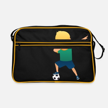 Soccer Boy Soccer Boy Dab Dance - Retro Bag