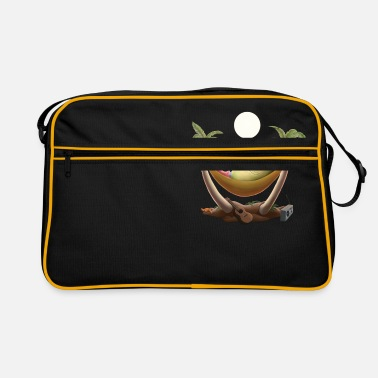 Rotten egg under the palm trees - Retro Bag