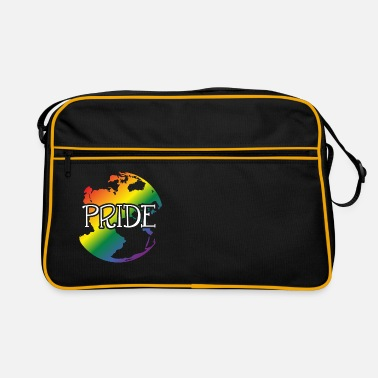 Heterosexual Loves diversity, gay, heterosexual - Retro Bag