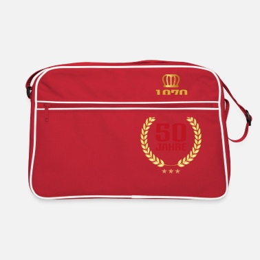 Trendy 50th birthday years gift birthday honor day - Retro Bag
