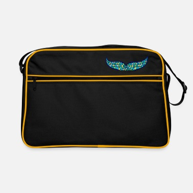 Fin Mermaid fin whale fin, Mermaid - Retro Bag