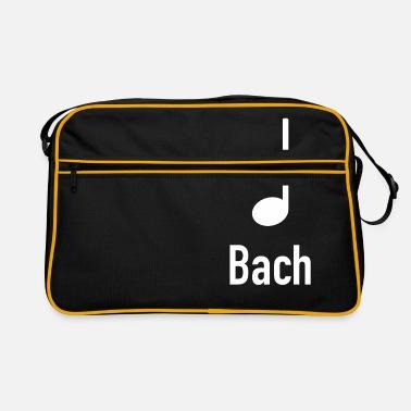 Bach klassisk musik Rygsæk sort