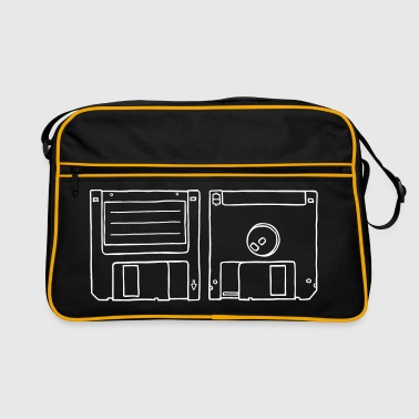 Floppy Disk - Retro Bag