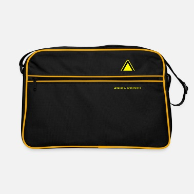 Nuclear Power Atomic Logo Radiation Nuclear - Retro Bag