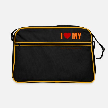I Love My Beer Funny Drinker Alcohol T-Shirt - Retrotasche