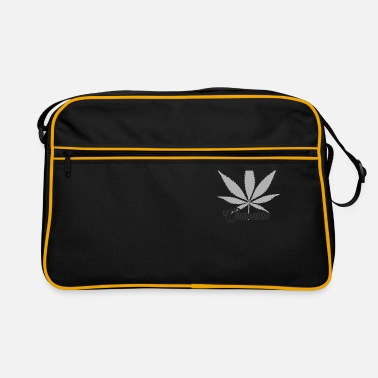 Cannabis Cannabis cannabis leaf - Retro Bag