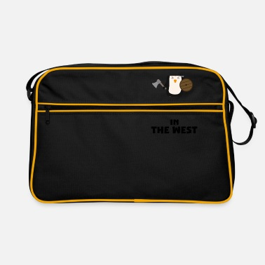 West-ritter Wikinger sind in West S27vo geboren. - Retrotasche