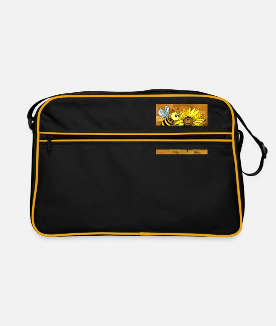 Nature Bags & Backpacks - Insect - Retro Bag black/gold