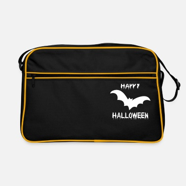 Bloody Halloween bat vampire creepy funny - Retro Bag