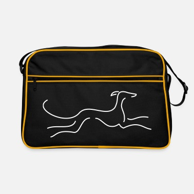 Comic Windhund - Retro Tasche