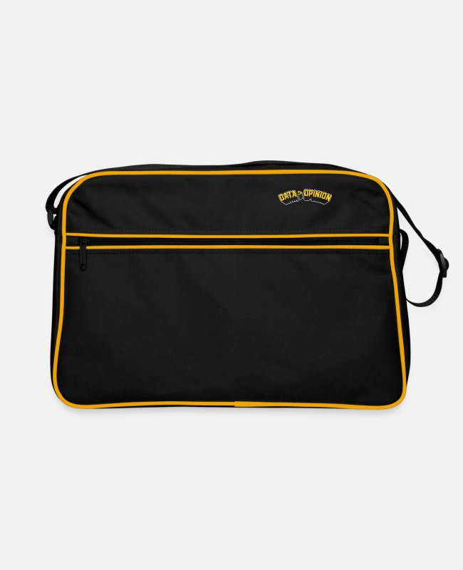 Ethical Hacking Bags & Backpacks - Data Opinion - Retro Bag black/gold