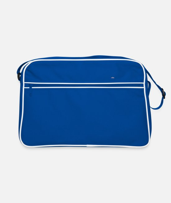 Crown Bags & Backpacks - AMMM Crown - Retro Bag blue/white