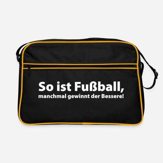 So Ist Fussball Retro Bag Spreadshirt