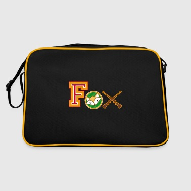 Fox varsity patches - Retro Bag