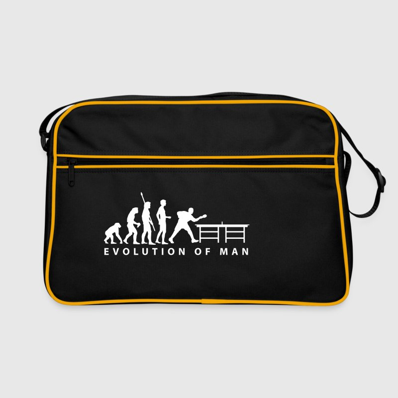 evolution_table_tennis_b - Retro Tasche