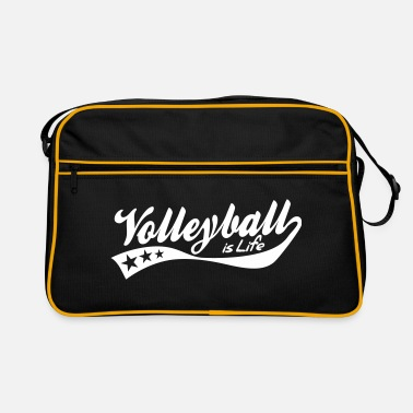 Retro volleyball is life - retro - Retro-tas