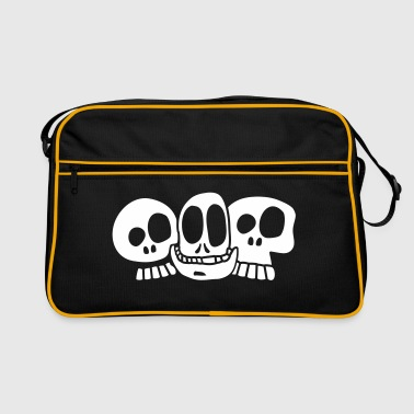 the skulls - Retro Tasche