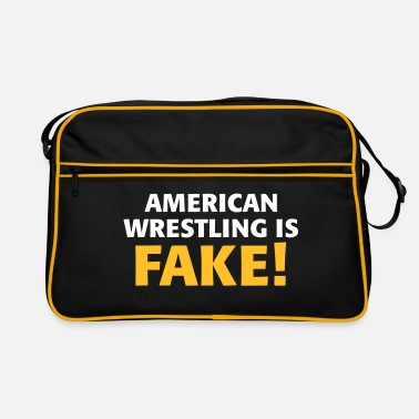 American Wrestling is fake ! - Retro Bag
