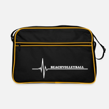 Beachvolleyball Beachvolleyball - Retro-tas