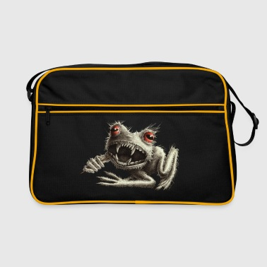 Werefrog Monster Frog - Retro Bag