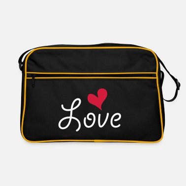 Cuore love 2 B ok - Retro-tas