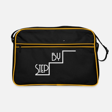 Step step by step - Retro Bag