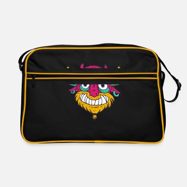 Cartoon Comic Cartoon Comic Monster - Retrotasche