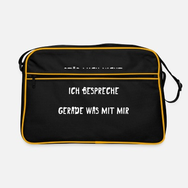 Provokation PROVOKATION: Rede mit mir selbst - Retrotasche