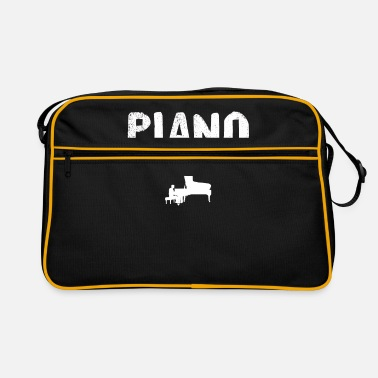 Piano Piano piano - Retro Bag