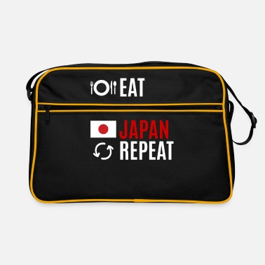 Map Japan lovers travel gift idea - Retro Bag