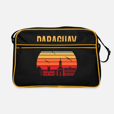 Tourist Paraguay America Travel Gift Idea - Retro Bag