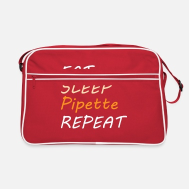 Pipettes BIOLOGY: Eat Sleep Pipette - Retro Bag
