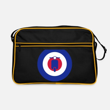 Ska mods scooter target 2 - Retro Bag